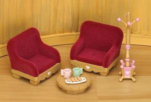 cosy living room set - Sylvanian Families Living Room Set