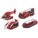 Tomica HyperCity Rescue Fire Vehicles 4 pack